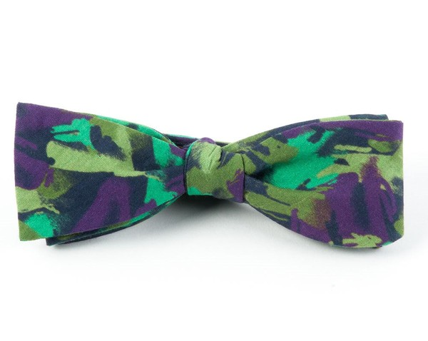 The Nelson Plum Bow Tie