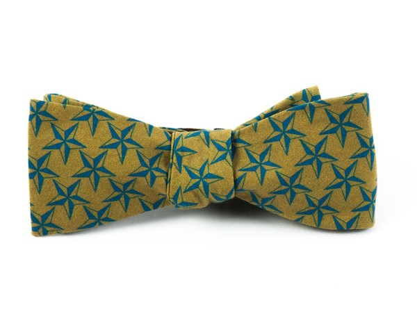 The Gettysburg Olive Bow Tie
