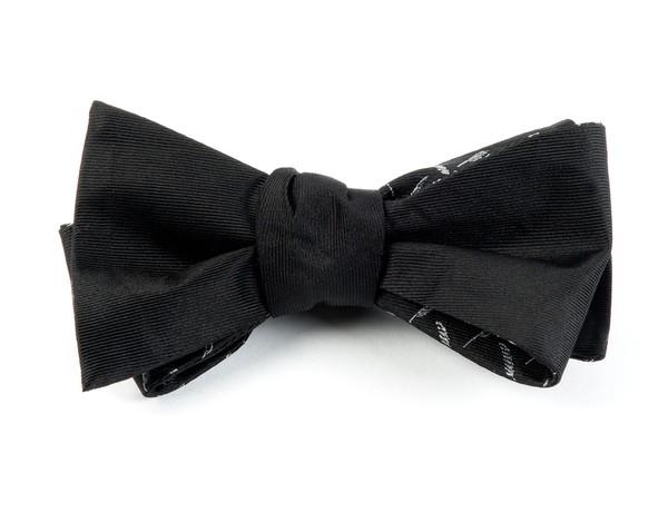 Jefferson Hotel Black Bow Tie
