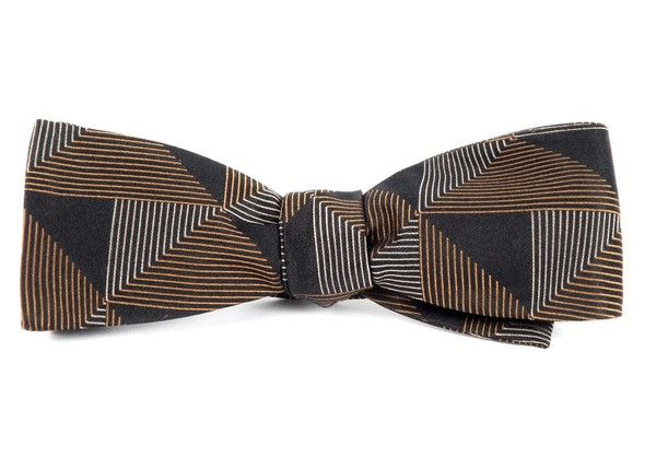 The Fonda Black Bow Tie