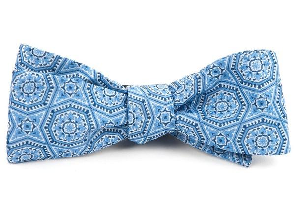The Habana Light Blue Bow Tie