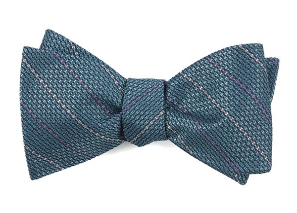 The Booth Aqua Bow Tie