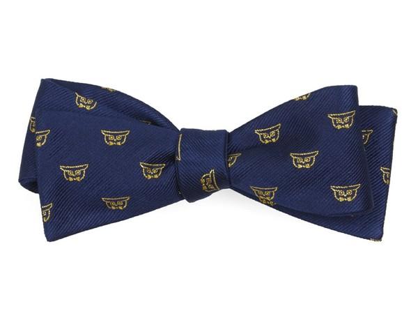 The Anniversary Navy Bow Tie