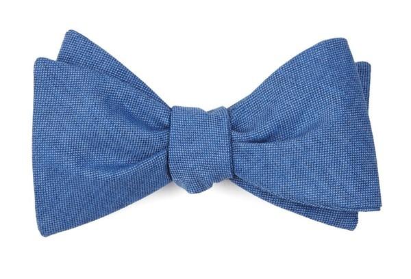 Sandeman Solid Light Cornflower Bow Tie