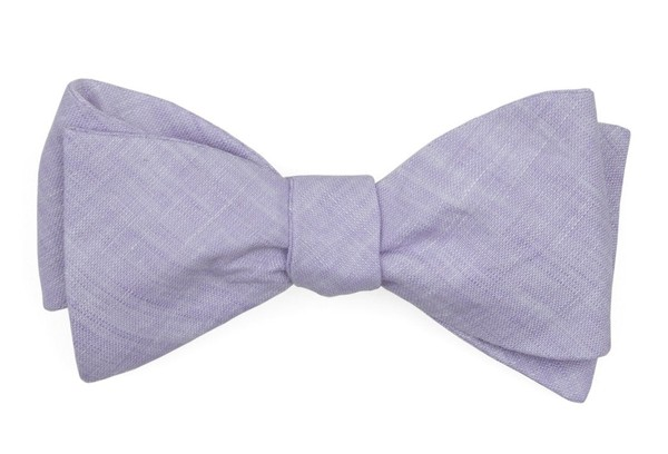 South End Solid Lavender Bow Tie