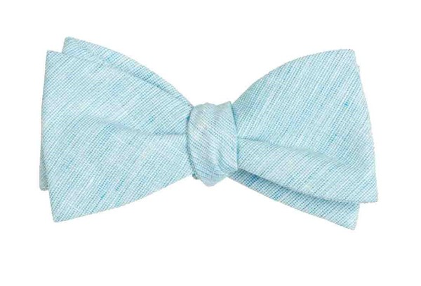 Serenity Solid Turquoise Bow Tie