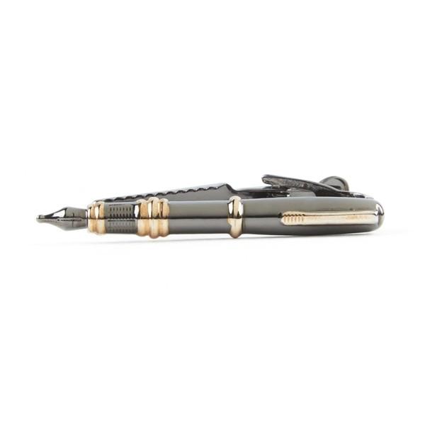 Pen Gun Metal Tie Bar