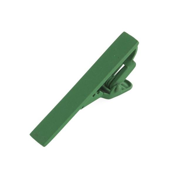 Matte Color Kelly Green Tie Bar