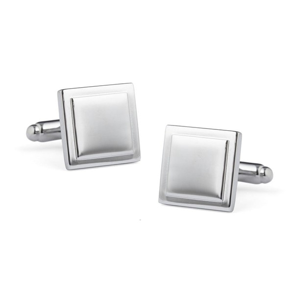 Silver Pane Cufflinks