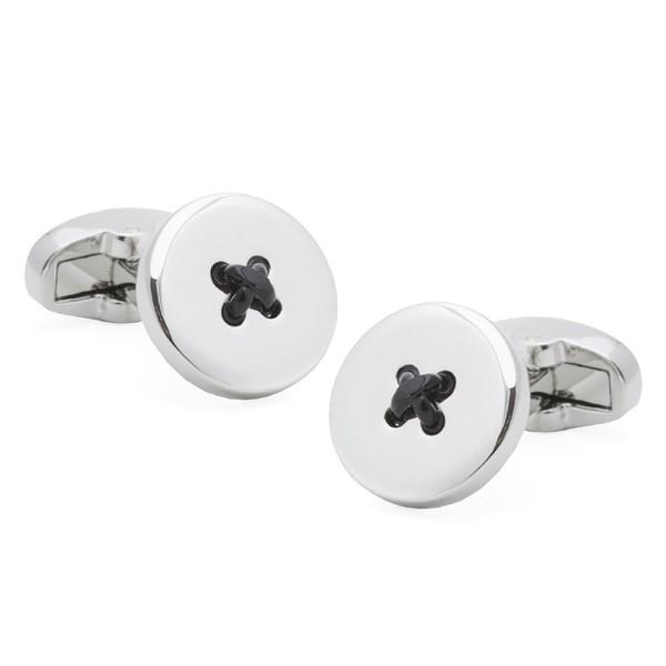 Buttons Black Cufflinks