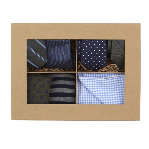 Hunter Green + Navy Style Box Gift Set