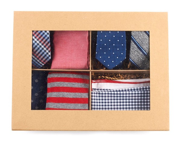 The Red + Navy Style Box Gift Set
