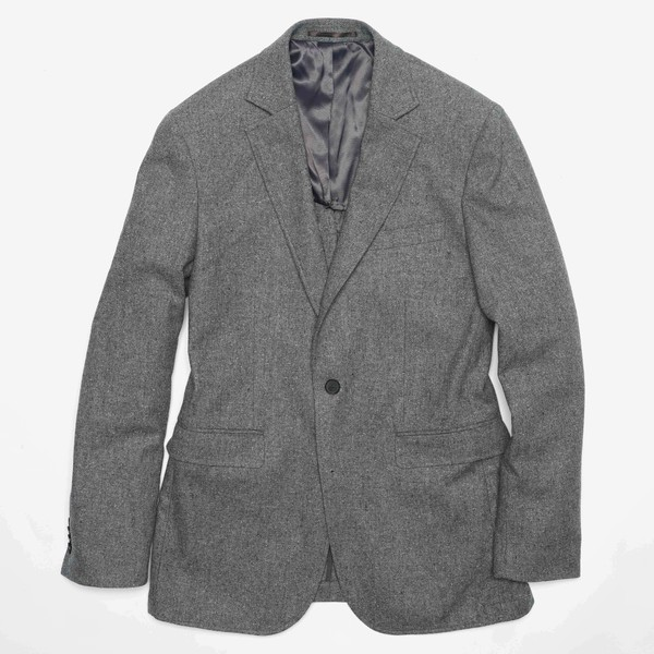 The Wool Miracle Donegal Light Grey Jacket
