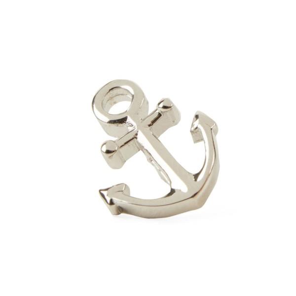 Anchor Silver Lapel Pin