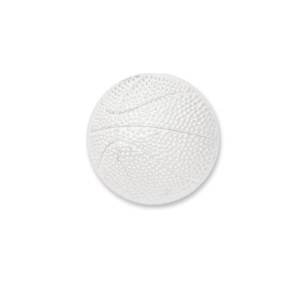 Basketball Silver Lapel Pin