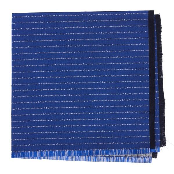 Unraveled Stripe By Dwyane Wade Royal Blue Pocket Square