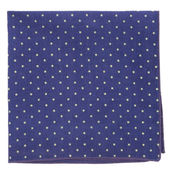 Corduroy Dots Royal Purple Pocket Square