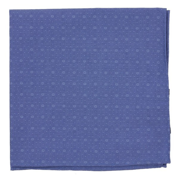 District Medallion Classic Blue Pocket Square