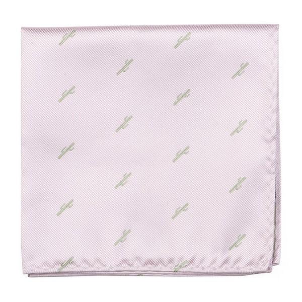 Mumu Weddings - Cactus Blush Pink Pocket Square