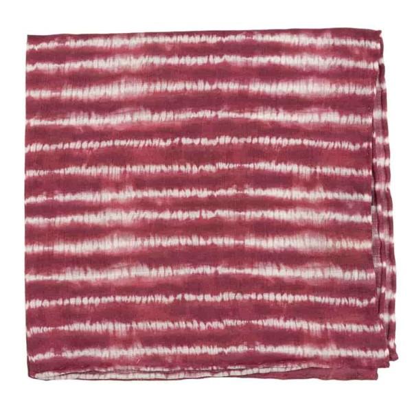 Day Dreamer Stripe Burgundy Pocket Square