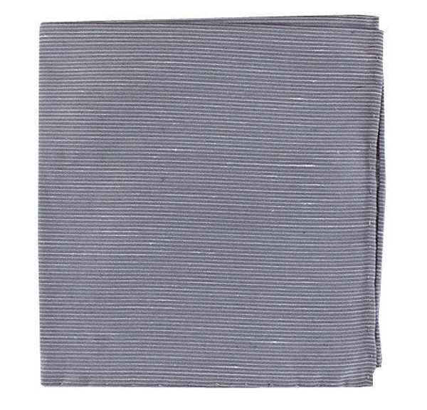 Fountain Solid Silver Pocket Square