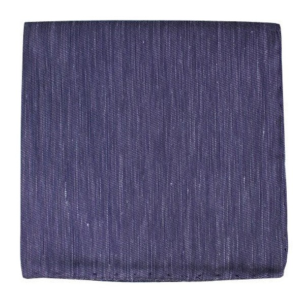 Sand Wash Solid Deep Purple Pocket Square
