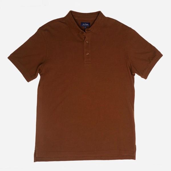 Pique Brown Polo
