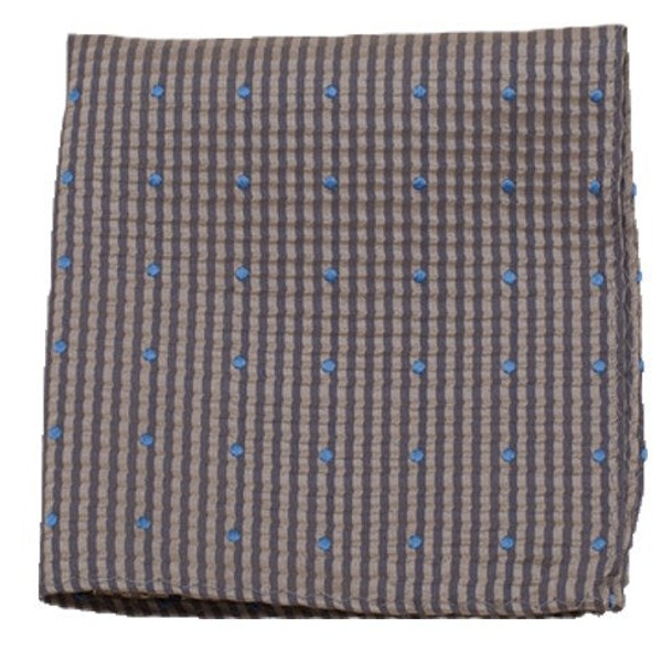 French Kiss Champagne Pocket Square