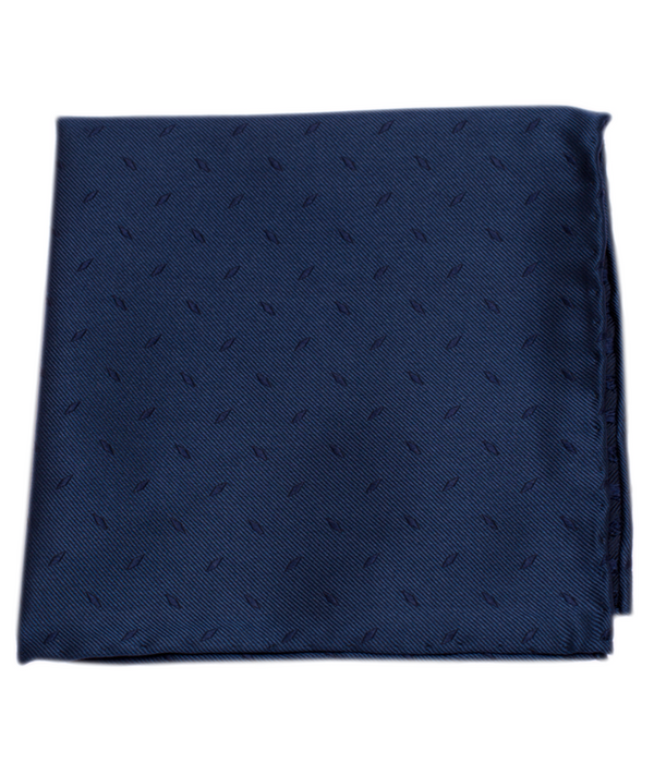 Industry Solid Navy Pocket Square