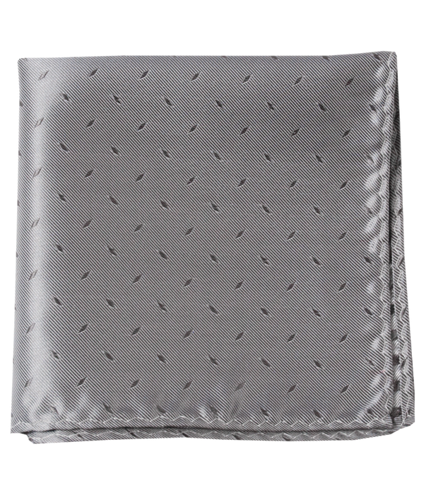Industry Solid Silver Pocket Square