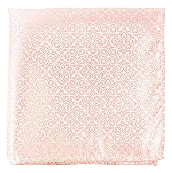 Opulent Light Pink Pocket Square