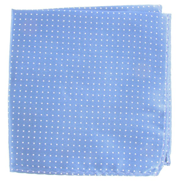 Mini Dots Light Blue Pocket Square