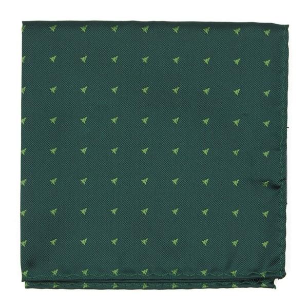 Evergreen Hunter Green Pocket Square