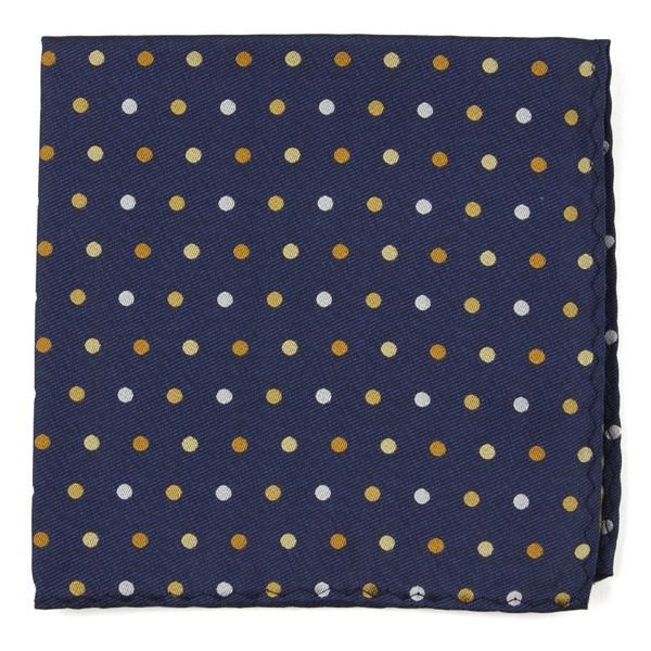 Spree Dots Yellow Pocket Square