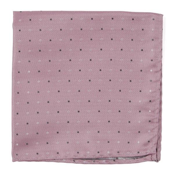 Jpl Dots Baby Pink Pocket Square