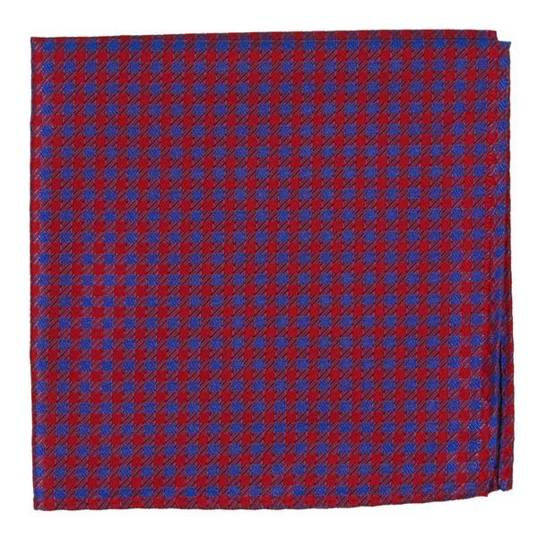Commix Checks Red Pocket Square
