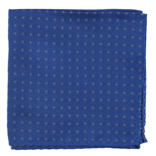 Sparkler Medallions Royal Blue Pocket Square