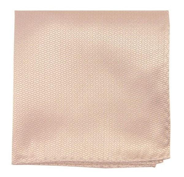 Static Solid Tan Pocket Square