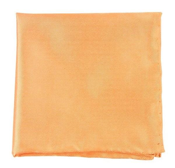 Solid Twill Peach Pocket Square
