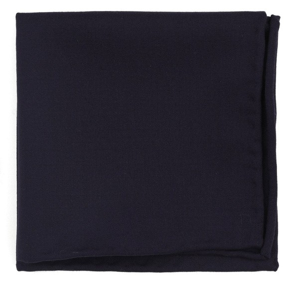 Faculty Solid Eggplant Pocket Square