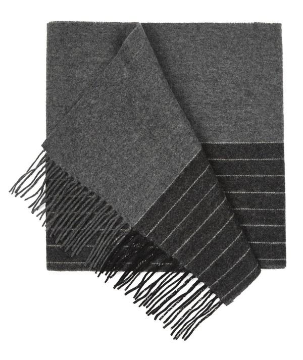 Avondale Stripe Grey Scarf