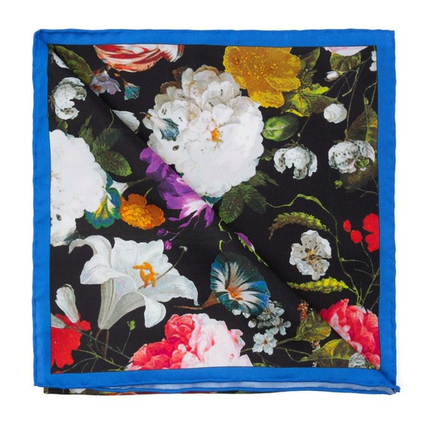 The Floral Black Scarf