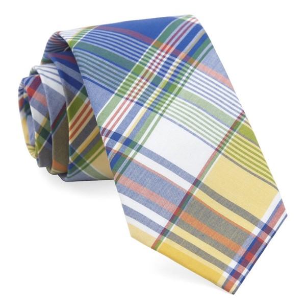 Fishtown Plaid Royal Blue Tie