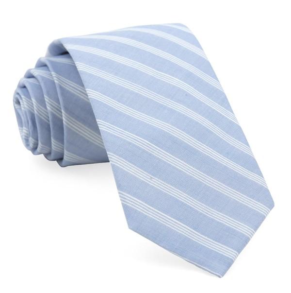Seamore Stripe Blue Tie