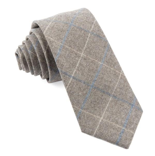 Barberis Wool Biella Grey Tie