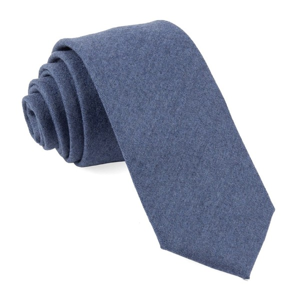 Barberis Wool Togna Blue Tie
