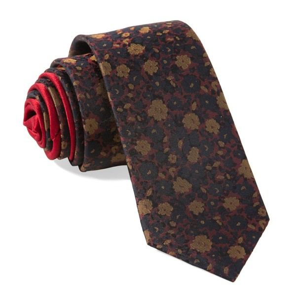 Special Edition - Abbey Florals By Dwyane Wade Wine Tie