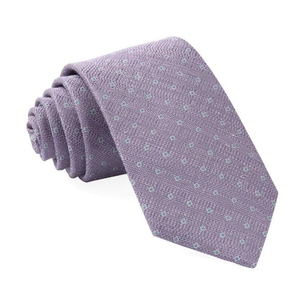 Pixel Geos Lilac Tie