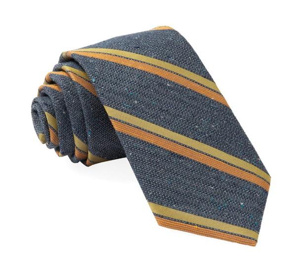 Ridgemont Stripe Navy Tie