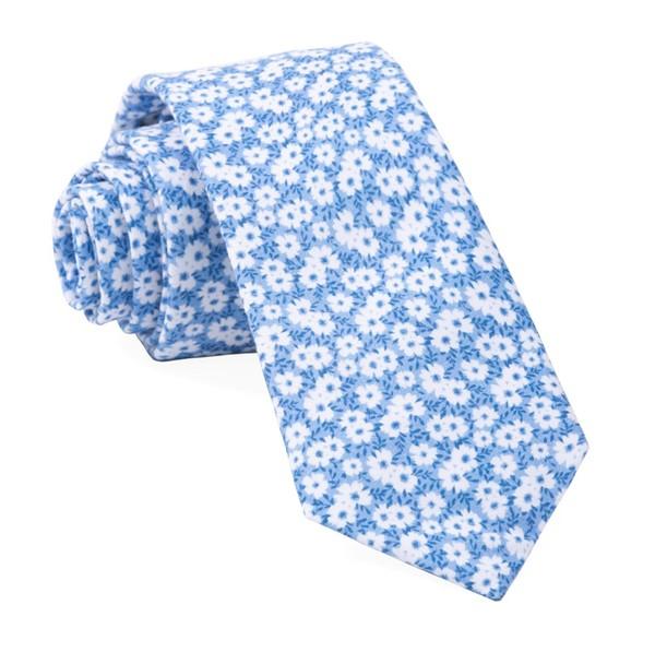 Alfresco Floral Light Blue Tie